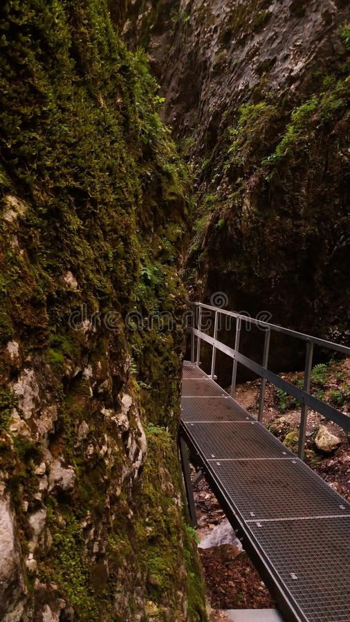 & x22; 7 stairs& x22; каньон стоковые фото