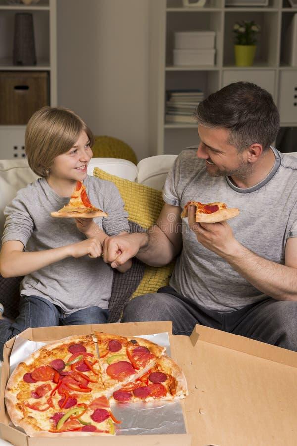 It& x27 ; temps de pizza de s ! image libre de droits