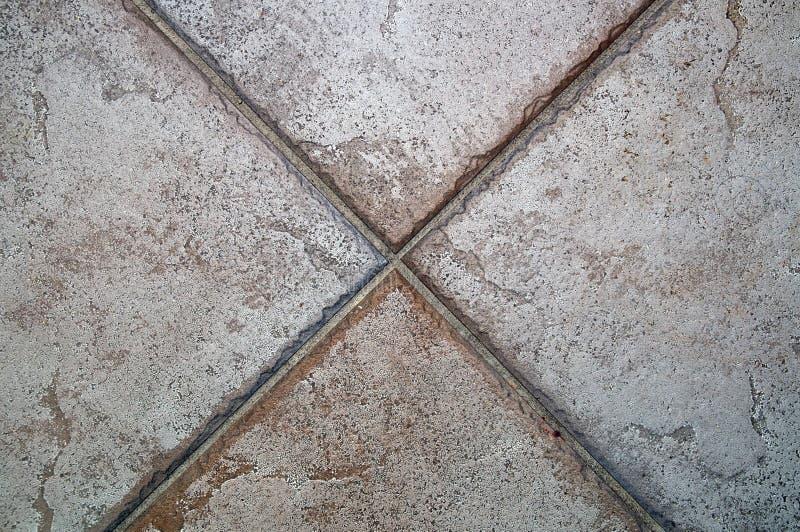 X tworzący podłogowymi płytkami obraz stock