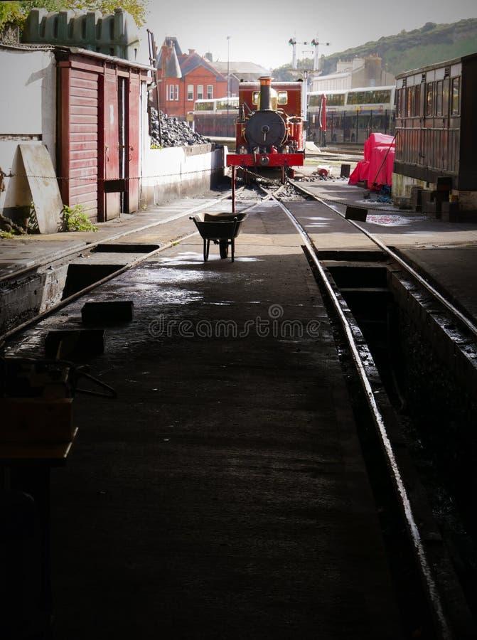 'Fenella' Steam Engine No. 8, 'Fenella', of the Isle of Man Railways stock photos