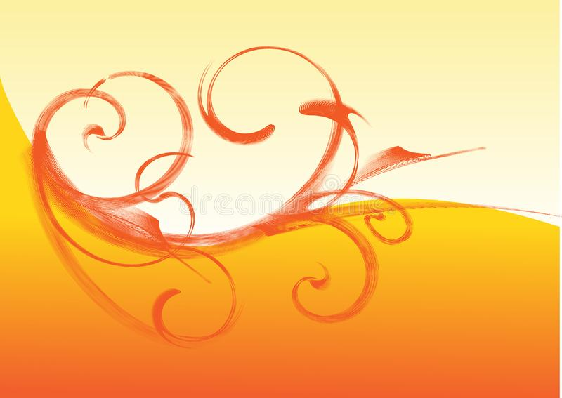 X3.cdr floral imagem de stock royalty free