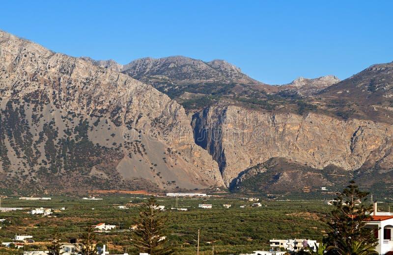 Xa Gorge, Crete Island, Greece Royalty Free Stock Image