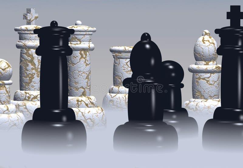 Xadrez ilustração do vetor