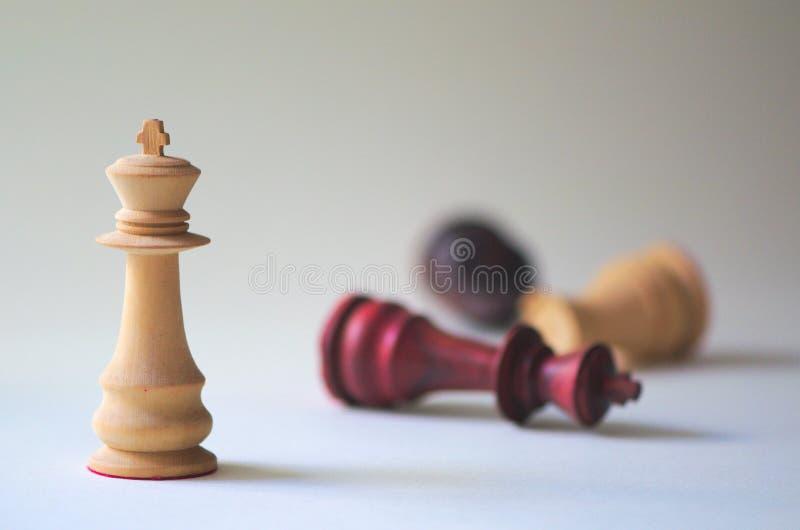 Xadrez disparado da xadrez com bokeh fotografia de stock