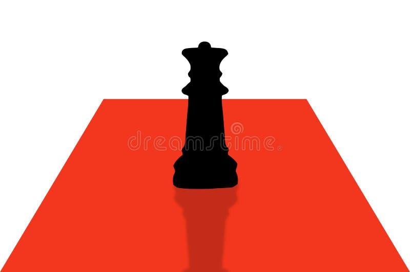 Xadrez pieces-1 ilustração stock