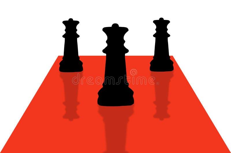 Xadrez Pieces-9 Fotografia de Stock Royalty Free