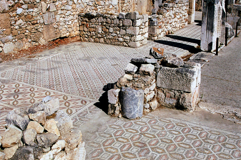 Xanthos - il capitale dell'impero di Lician immagine stock libera da diritti