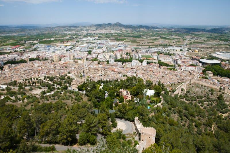 Xativa - Spanien stockfoto