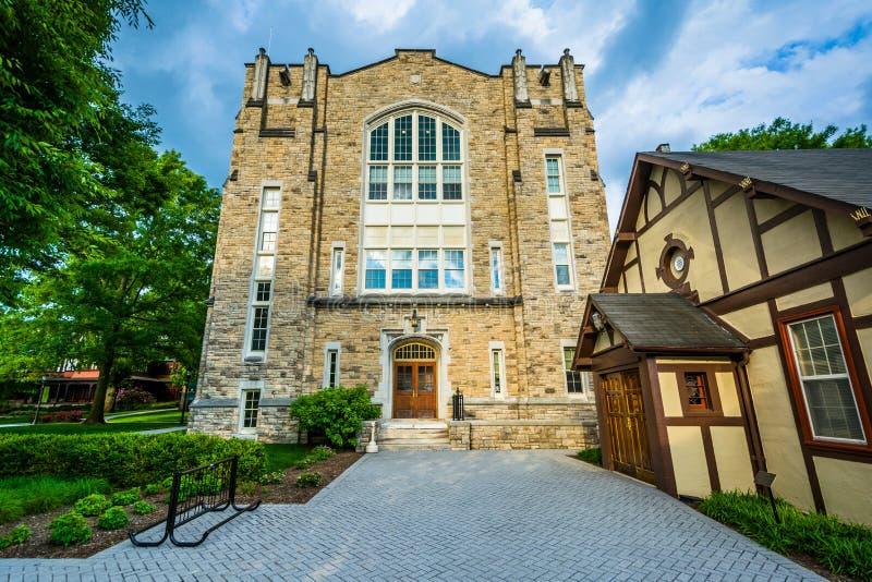 Xavier Hall chez Loyola University Maryland, à Baltimore, le Maryland photographie stock libre de droits