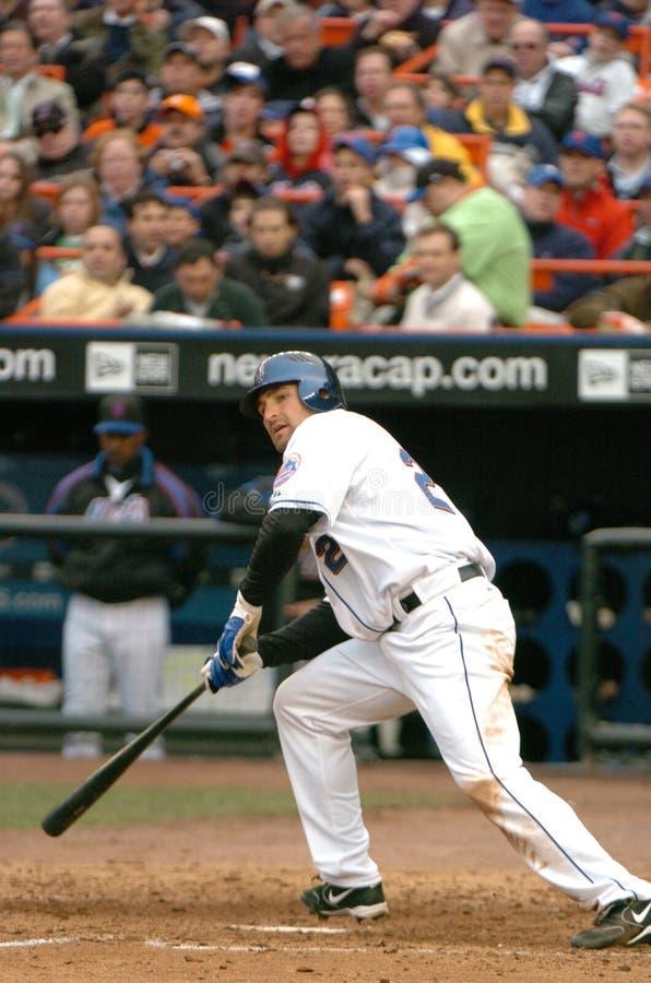 Xavier Nady, New York Mets royalty-vrije stock fotografie