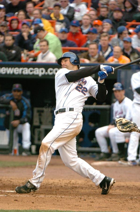 Xavier Nady, New York Mets stock afbeelding
