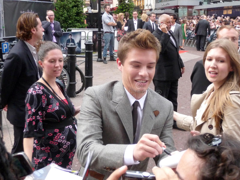 Xavier Samuel At Twilight Eclipse Premiere Editorial Image