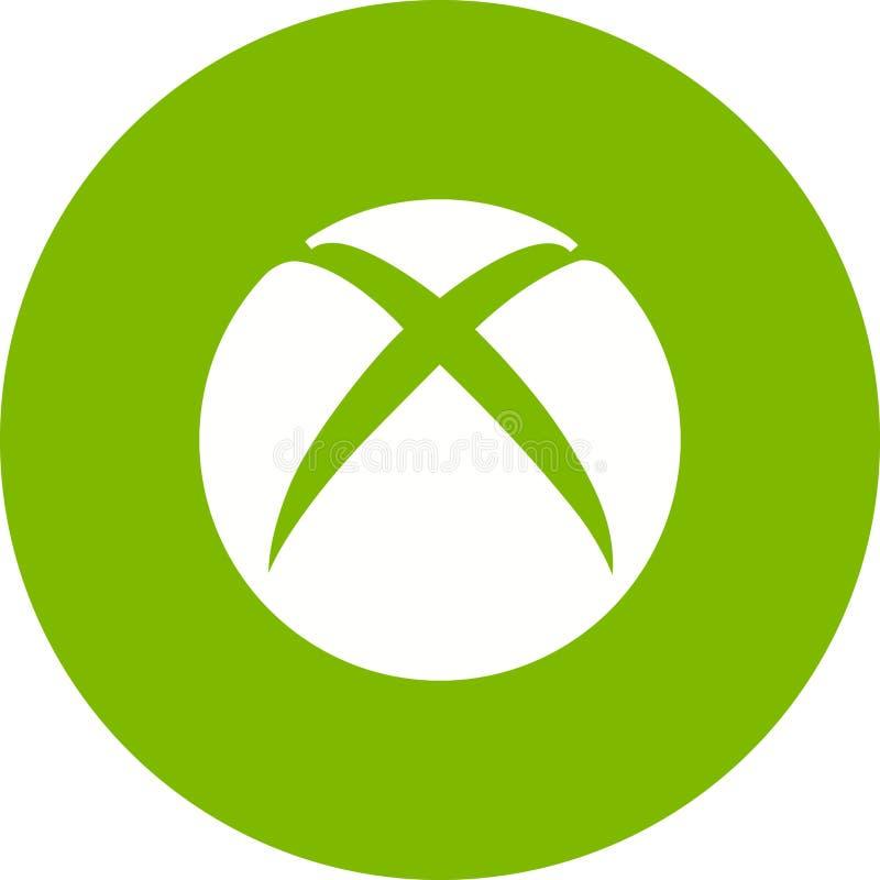 Xbox illustration stock