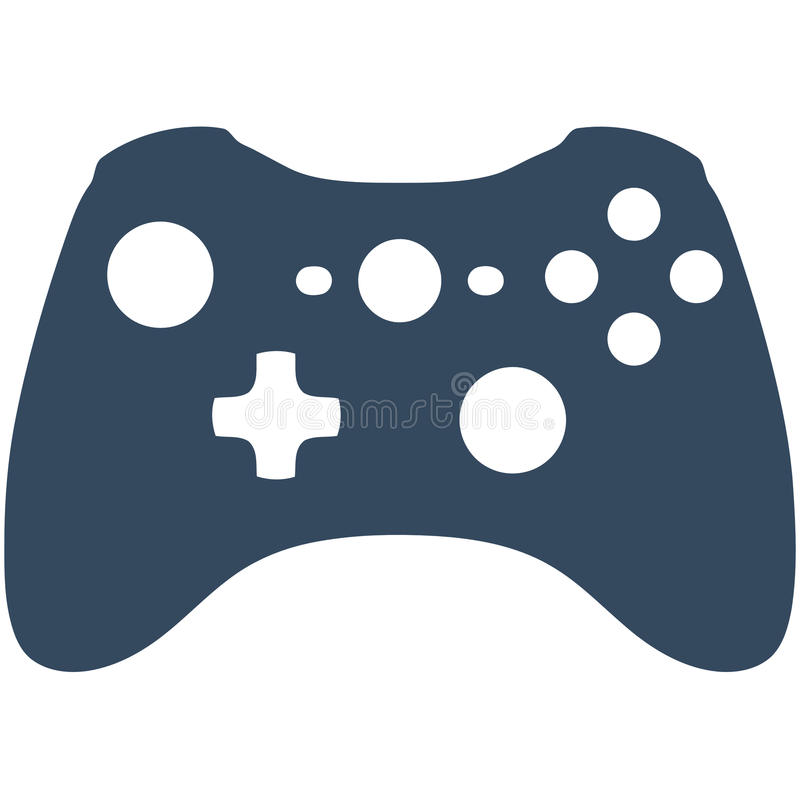 Xbox 360 Game Controller stock illustration IllustrationXbox Controller Silhouette