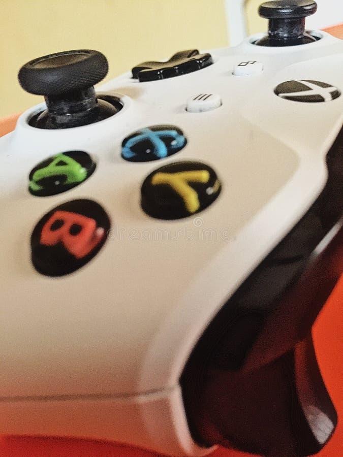 Xbox kontrollant arkivfoton