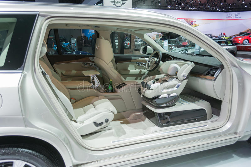 XC90 Child Seat Concept royalty free stock images