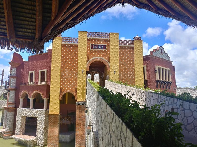 Xcaret Xavage Centre stock images