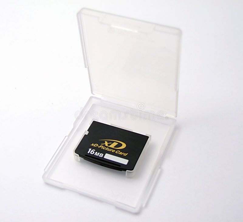 Xd memory card royalty free stock photo