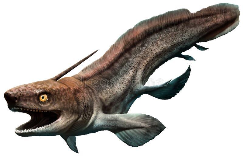 Xenacanthus ilustração stock
