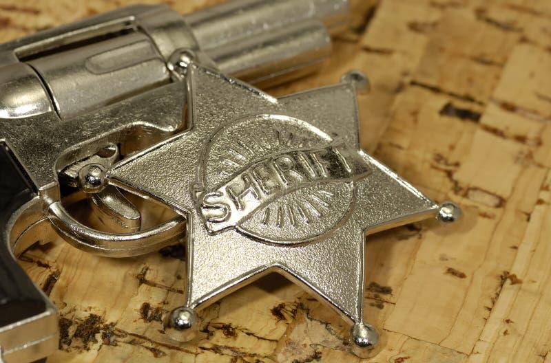 Xerife imagens de stock royalty free