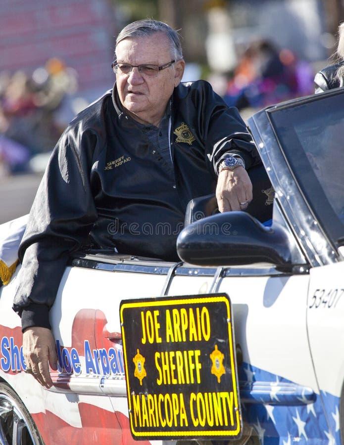 Xerife Joe Arpaio imagem de stock