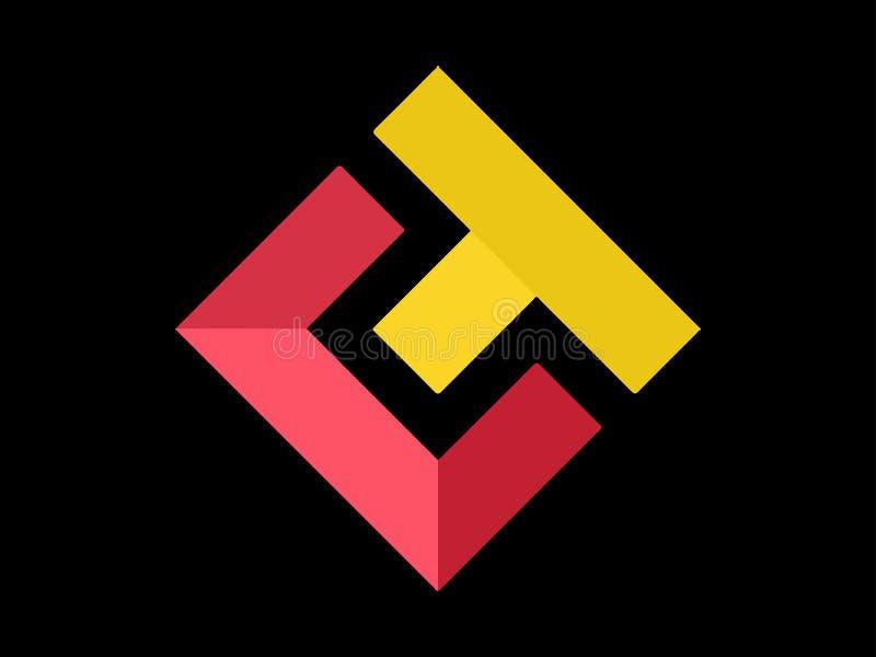 XET simbolico eterno illustrazione di stock