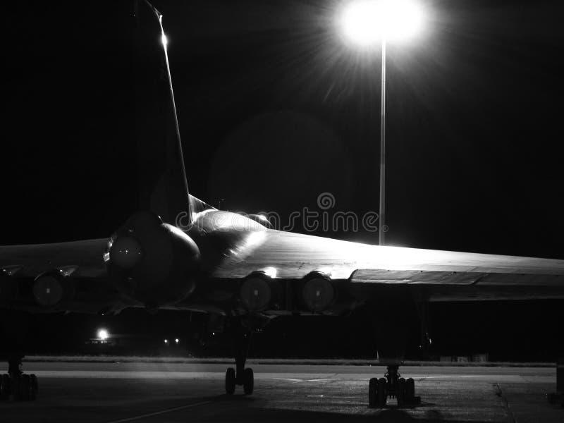 XH 558 el bombardero de Vulcan imagen de archivo