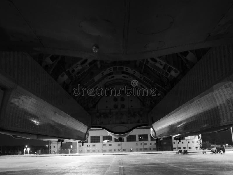 XH 558 el bombardero de Vulcan foto de archivo