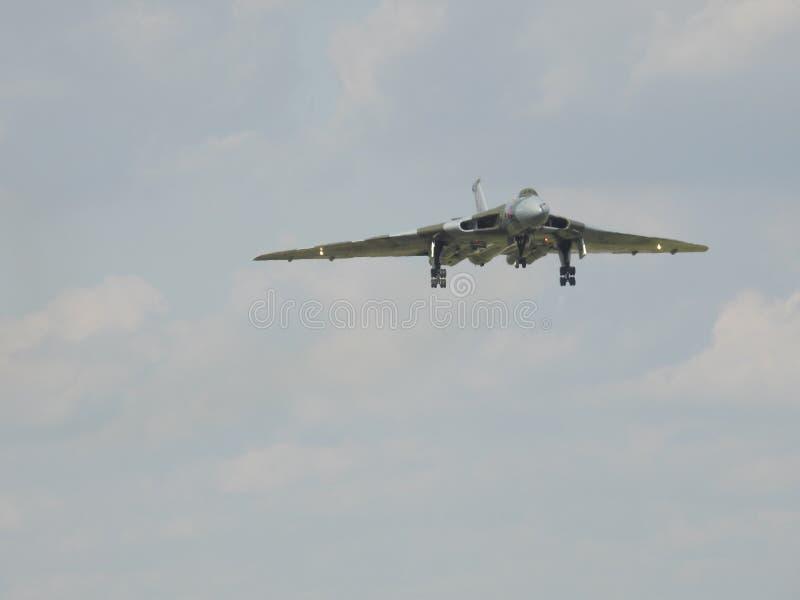 XH 558 el bombardero de Vulcan foto de archivo libre de regalías