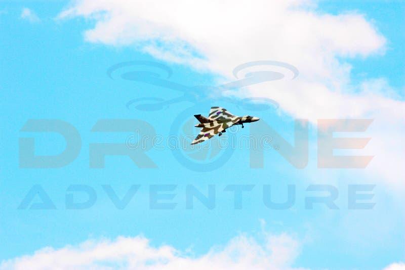 XH 558 el bombardero de Vulcan fotos de archivo libres de regalías