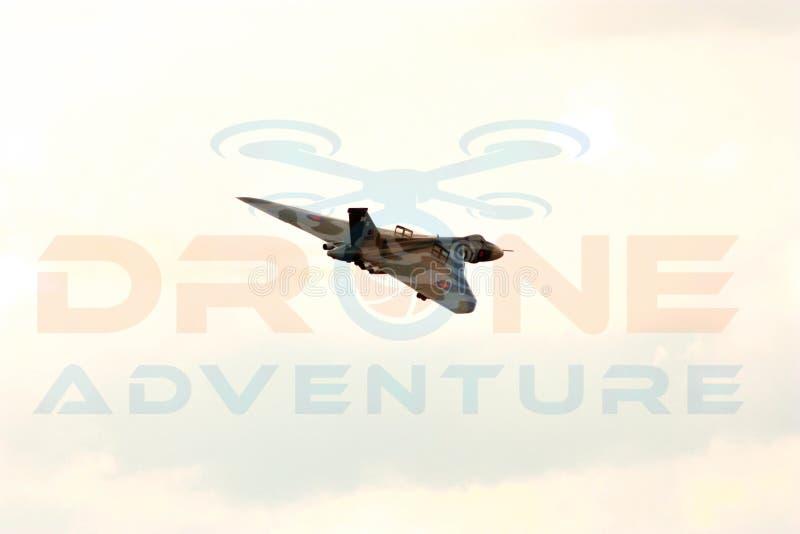 XH 558 el bombardero de Vulcan imagenes de archivo