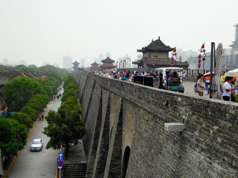 The Xi'an Circumvallation royalty free stock photos