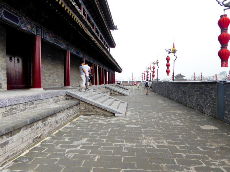 The Xi'an Circumvallation royalty free stock photo