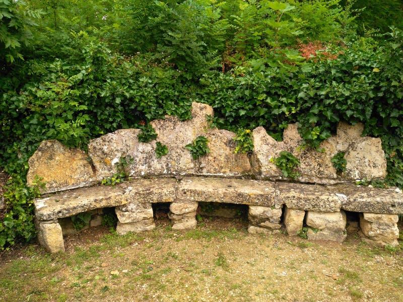 XI世纪的长凳 库存图片