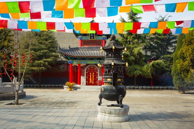 ` XI архитектура виска Guangren старая китайская стоковые фото