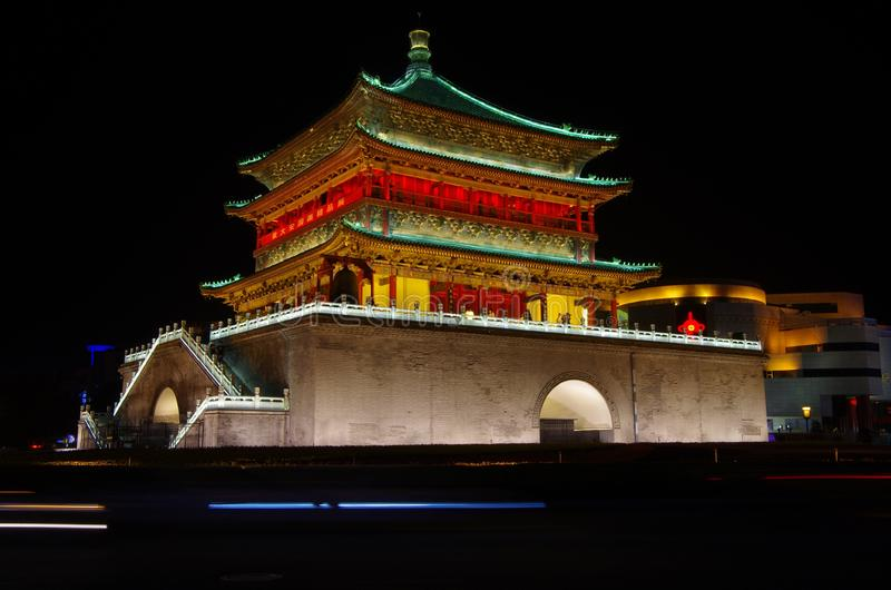 Download Xi'an Bell Tower stock photo. Image of exterior, travel - 34622122