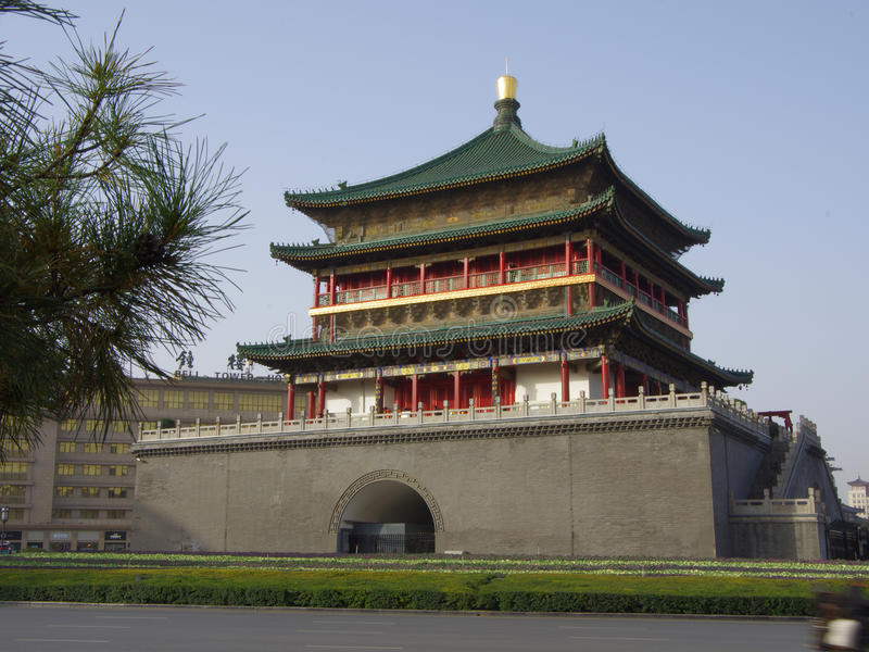 Download Xi'an Bell Tower Royalty Free Stock Images - Image: 35289449