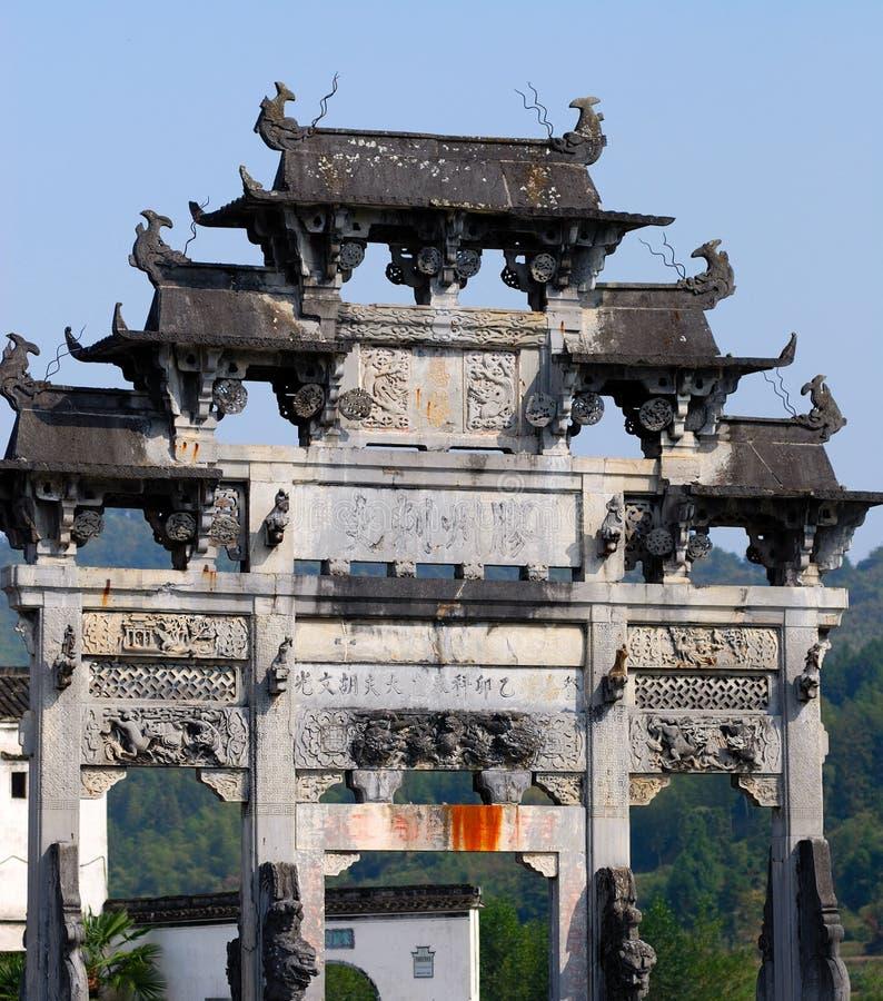 Xi Di, un Hui, Cina fotografie stock libere da diritti