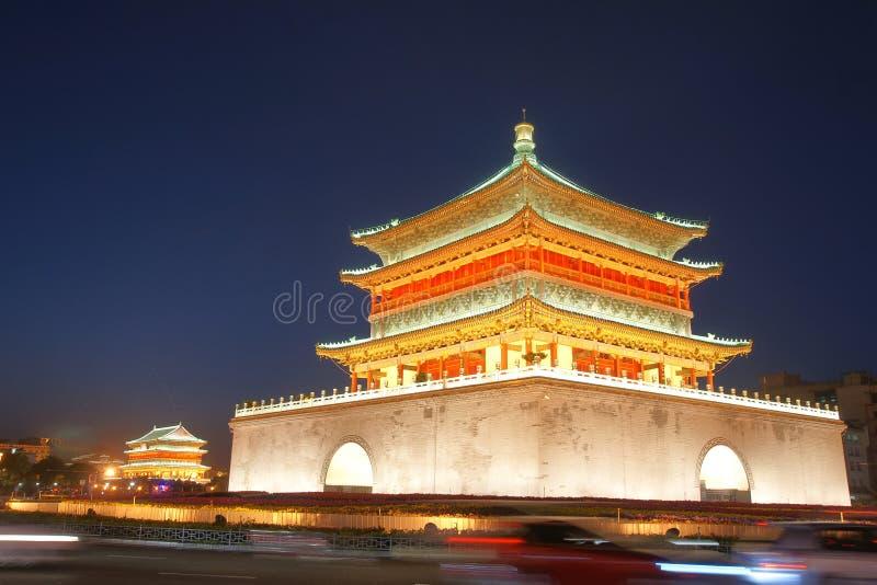 Xi'an Dzwonkowy wierza fotografia stock