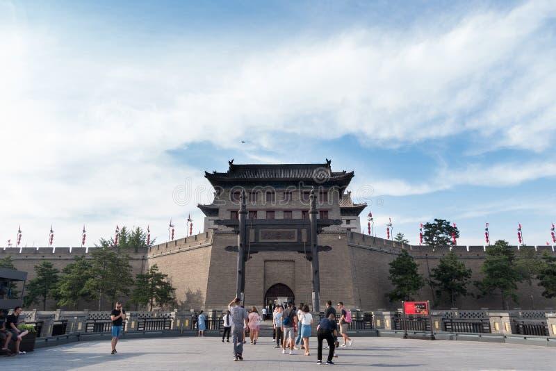 XI 'en forntida stad royaltyfri bild