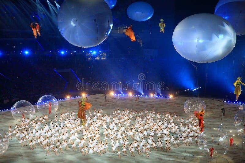 XI juegos del invierno de Paralympic en Sochi imagenes de archivo