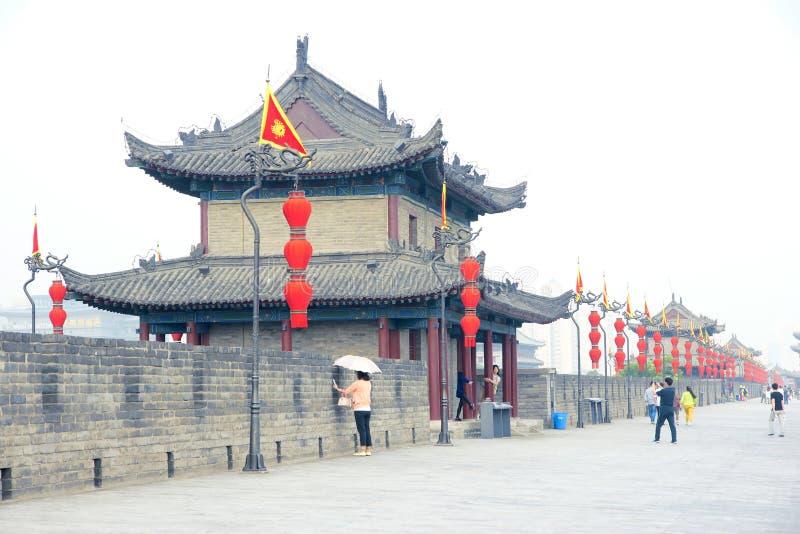 Xi'an-Stadtmauer lizenzfreies stockfoto
