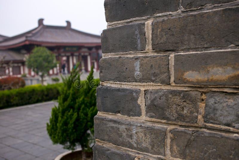 ` Xi un tempio dell'en del ` di ci di cinese dentro la costruzione fotografie stock libere da diritti
