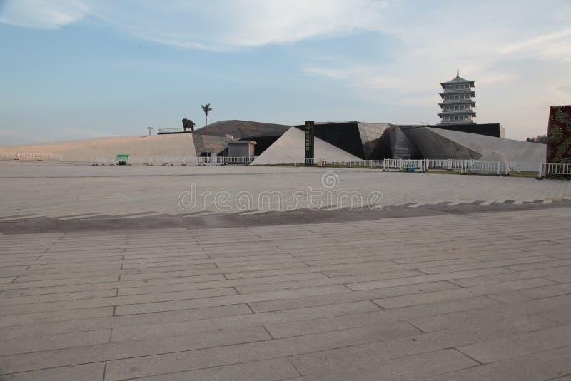 XI. ??wiatowy expo park, Shaanxi prowincja changan wierza obraz stock