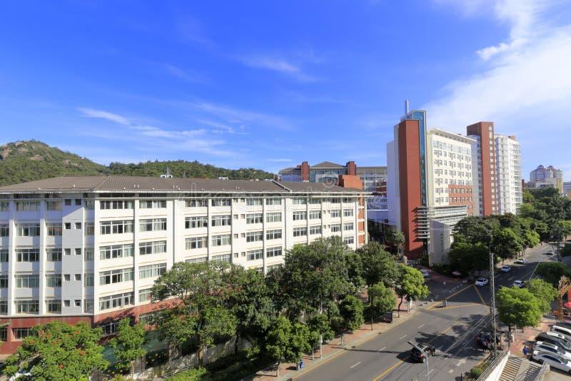 Xiamen żadny 1 szkoła średnia Fujian prowincja, porcelana fotografia royalty free