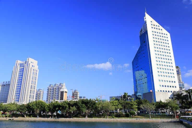 Xiamen byggnad och åklagarmyndighetbyggnad arkivbild