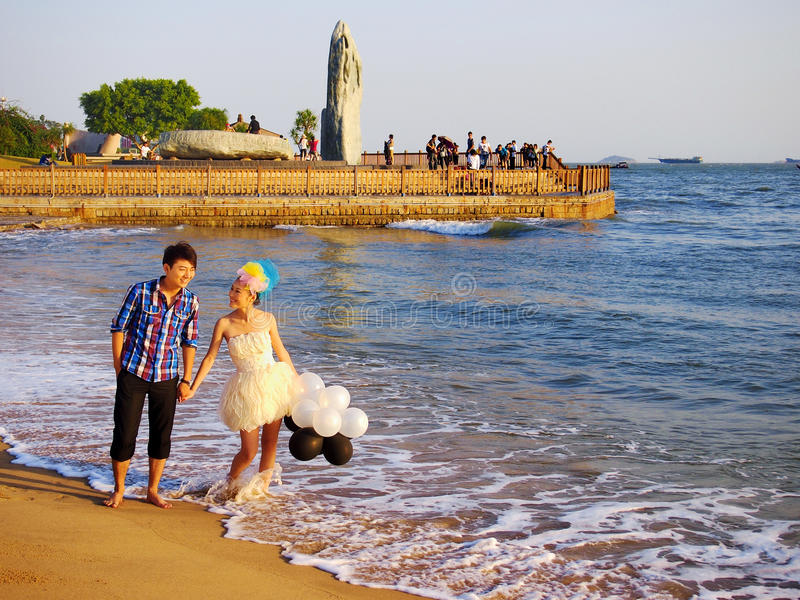 Download Xiamen,China,Beach editorial stock image. Image of chinese - 21753124