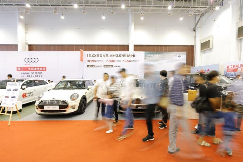Xiamen samochodowy festiwal, adobe rgb obraz royalty free
