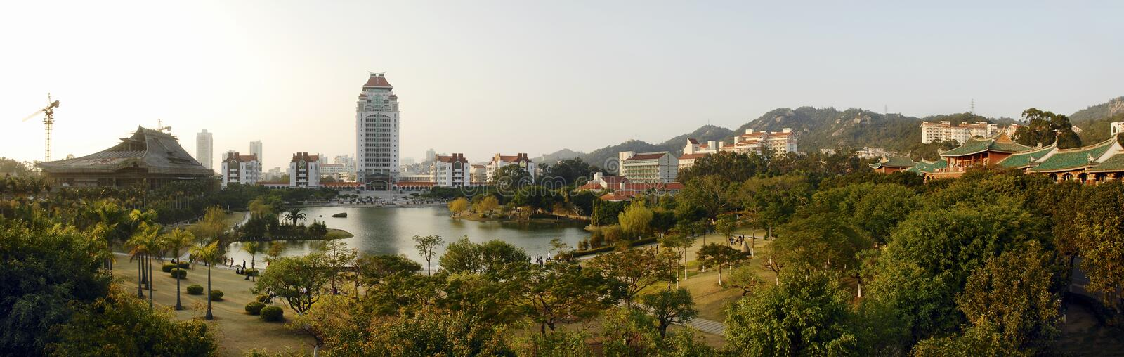 Xiamen University. This is xiamen university,Located in Xiamen in China,It is a very beautiful university,Also has a long history royalty free stock images