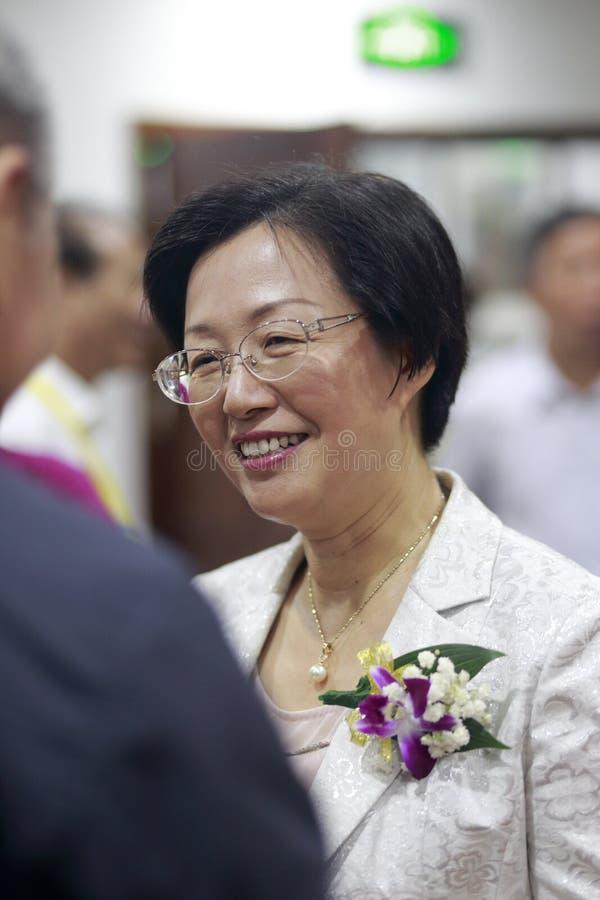 Xiamen vice mayer guoguirong stock image